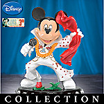 Mickey's Magical Tribute To The King Collectible Mickey And Elvis Figurine Collection