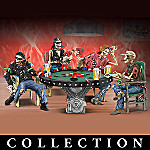 Crypt Poker Collectible Figurine Collection: Perfect Gift For Poker Players
