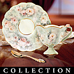 Lena Liu Precious Blossoms Floral Art Teacup And Saucer Collection