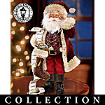 Thomas Kinkade So Real Old World Santa Figurine Collection