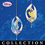 Disney Princess Dreams Porcelain Collectible Christmas Ornament Collection