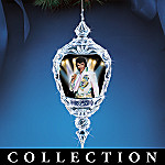 Elvis Presley Crystal Legend Christmas Ornament Collection