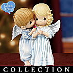 Collectible Precious Moments Heaven Sent Angel Figurine Collection