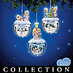 Precious Moments Joyful Jingle Bells Christmas Ornament Collection