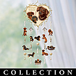 Dachshunds Leave Paw Prints On Our Hearts Mobile Collection: Dachshund Dog Lover Gift