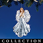 Reflections Of Faith Collectible Angel Crystal Christmas Ornament Collection
