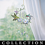 Garden Whispers Hummingbird And Floral Art Indoor Chime Collection: Spring Decoration