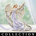 Lena Liu's Heartfelt Inspirations Floral Art Collectible Angel Figurine Collection