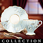 Lena Liu Prairie Meadow Songbirds Teacup And Saucer Collection