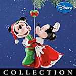 Disney Holiday Kiss Collectible Annual Christmas Ornament Collection