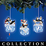Chillin' Out Penguin Christmas Tree Ornament Collection