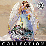 Thomas Kinkade Safe Harbor Angel Figurine Collection