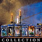 Collectible Dragon Chronicles Tea Light Candle Collection: Dragon Home Decor