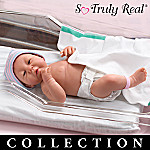 So Truly Real Dear Sweet Darlings Collectible Lifelike Newborn Vinyl Baby Doll Collection