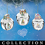 Precious Moments Sleigh Bells Christmas Tree Ornament Collection