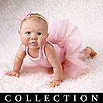 Tiny Toes Miniature Ballerina Baby Doll Collection