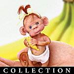 Just A Little Monkey Business Miniature Monkey Collectible Figurine Collection