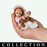 Heavenly Handfuls Li'l Monkey Hugs Collectible Baby Monkey Doll Collection