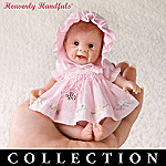Heavenly Handful I Wish You... Miniature Lifelike Poseable Baby Doll Collection