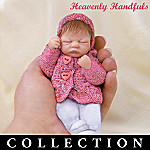 Heavenly Handfuls Linda Webb Loving Em Miniature Baby Doll Collection