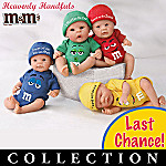 Heavenly Handfuls Collectible M&M'S(R) Melts In Your Heart(TM) Miniature Baby Doll Collection