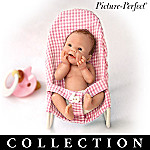 Picture-Perfect Anatomically Correct Lifelike Mini-Babies Figurine Collection