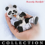 Heavenly Handfuls Playful Pandas Collectible Plush Doll Collection