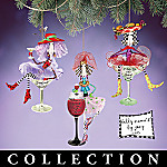 Dolly Mama's Happy Hour Christmas Tree Ornament Collection