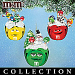 M&M'S Sleigh Bells Ornament Collection: M&M'S Memorabilia