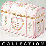 Treasured Memories Collectible Porcelain Daughter Gift Music Box Collection
