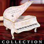 Lena Liu Musical Inspirations Piano Shaped Collectible Music Box Collection