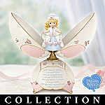 Precious Moments Caring Wishes Collectible Nurse Music Box Collection