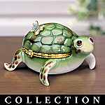 Tiny Turtles Limoges Style Collectible Turtle Music Box Collection: Turtle Lover Gifts