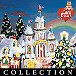 Care Bears Collectible Care-A-Lot Christmas Village Collection: Unique Christmas Decor