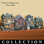 Thomas Kinkade Treasures Of Home Kitchen Canister Set Collection