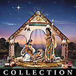 Native American Style Nativity Of The Christmas Star Nativity Set Collection