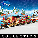 Mickey Mouse And Friends Christmas Through The Years Express Electric Train Collection