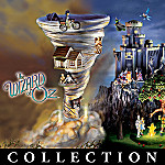 Wizard Of Oz Collectible Lighted Village Collection: Unique Home Decor