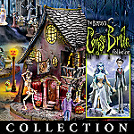 Tim Burton's Corpse Bride Village Collection: Lighted Indoor Halloween Decoration