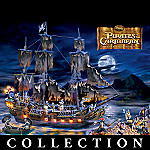 Disney Pirates Of The Caribbean Collectible Black Pearl Ghost Ship Collection