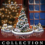 Thomas Kinkade Village Collection: St. Nicholas Circle
