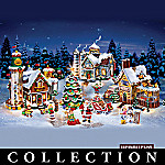 Hershey's Holiday Illuminated Village Collection
