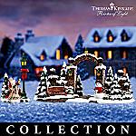 Thomas Kinkade Village Christmas Accessories Collection