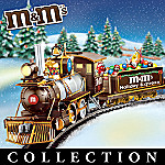 M&M Characters Electric Train Collection: M&M'S Holiday Express