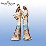 Thomas Kinkade Elegant Blessings Nativity Figurine Collection