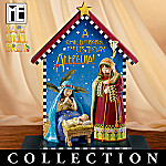 Mary Engelbreit All Is Breit Nativity Scene Figurine Collection