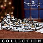 Thomas Kinkade Tiny Tidings Christmas Village Collection
