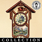 Thomas Kinkade The Lord's Perfect Christmas Morning Musical Village Collection