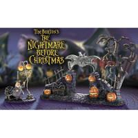 Halloween Town Village Gate Accessories