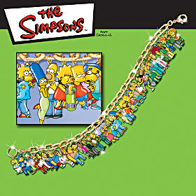 The Simpsons Charm Bracelet